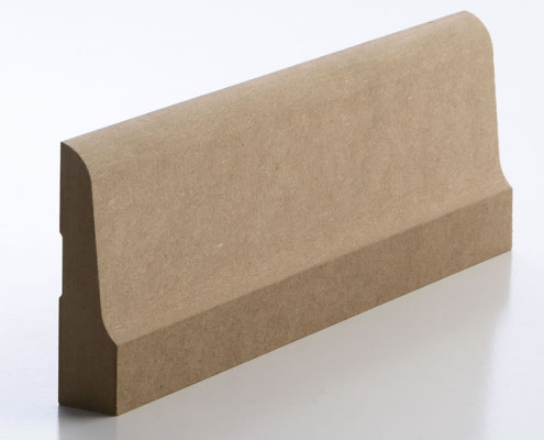 MDF Mouldings – Skirting / Architraves - Lambs Tongue