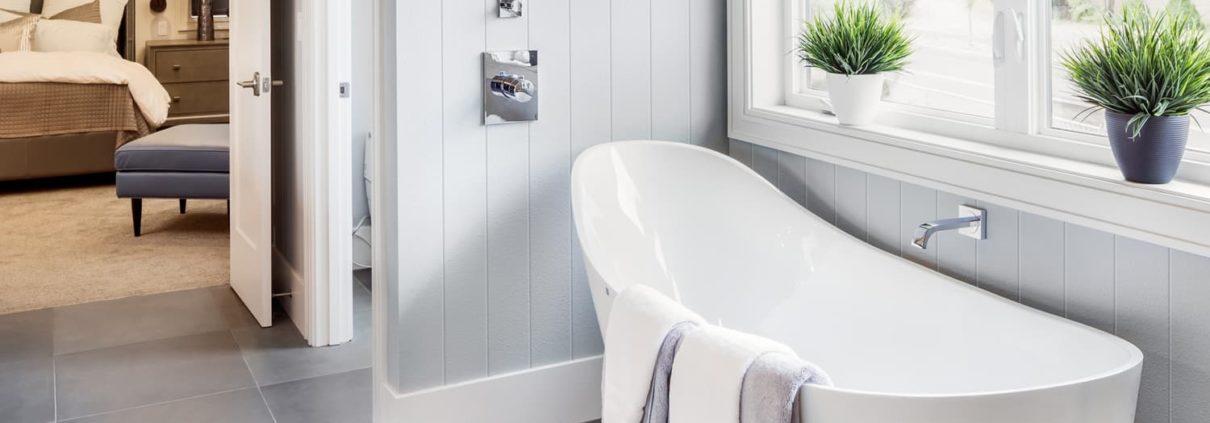 Colonial Wall Linings - Bathroom - VJ Wall Panelling, VJ Sheets, VJ Sheeting, VJ Lining, VJ Panels, VJ Board