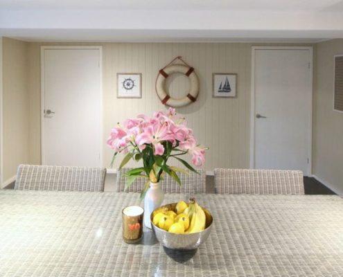 VJ in Dining Room